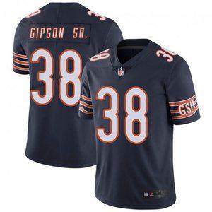 Bears Tashaun Gipson Navy Jersey